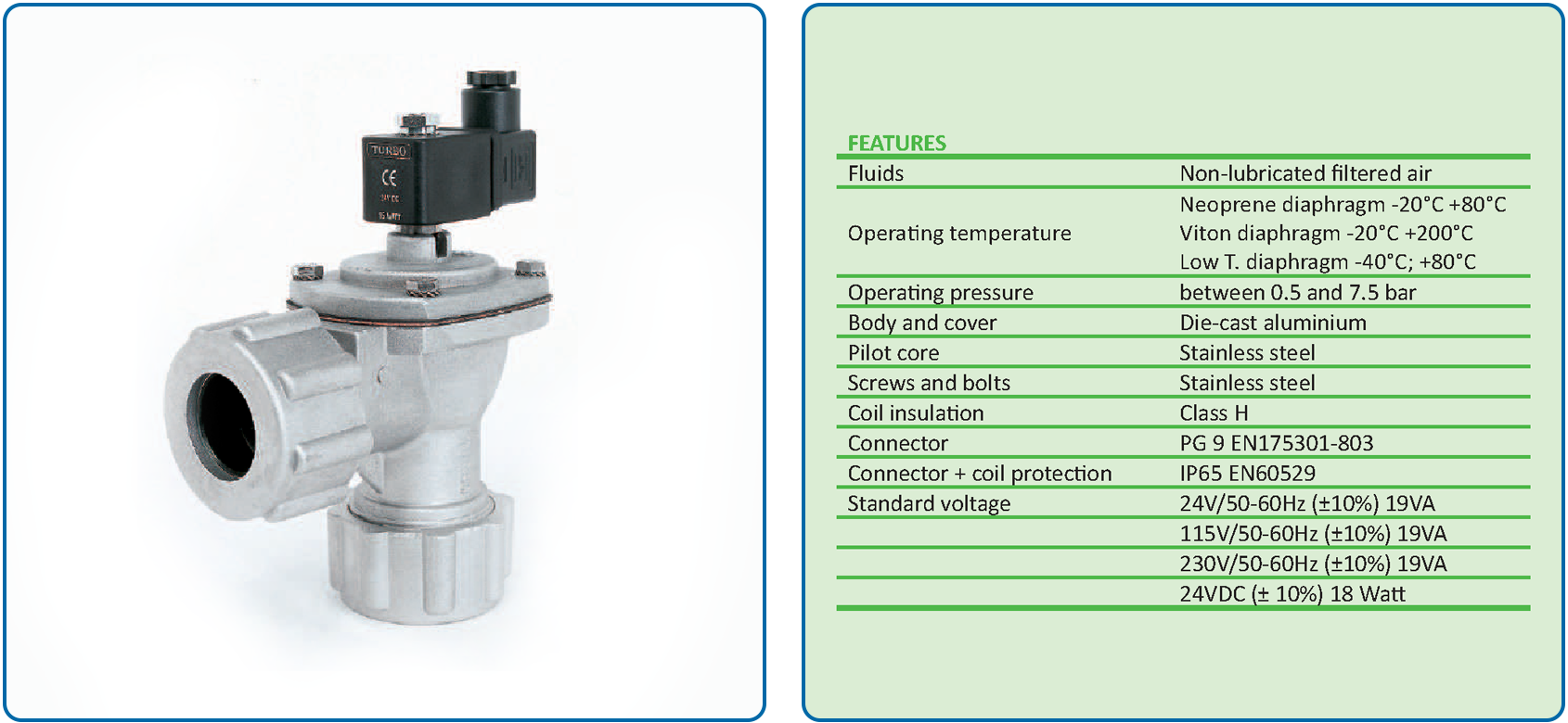 TD Series Compression Valve